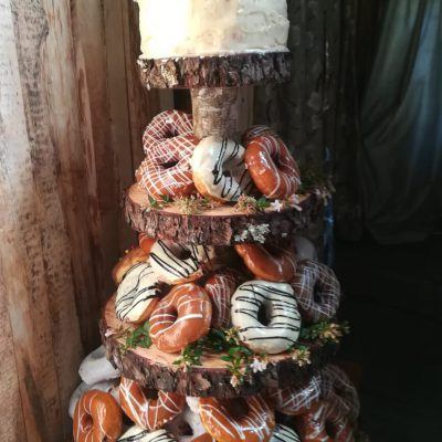 Something different for a bride who LOVES doughnuts!