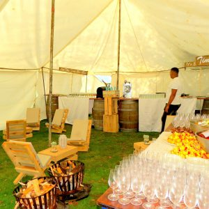 The canape tent